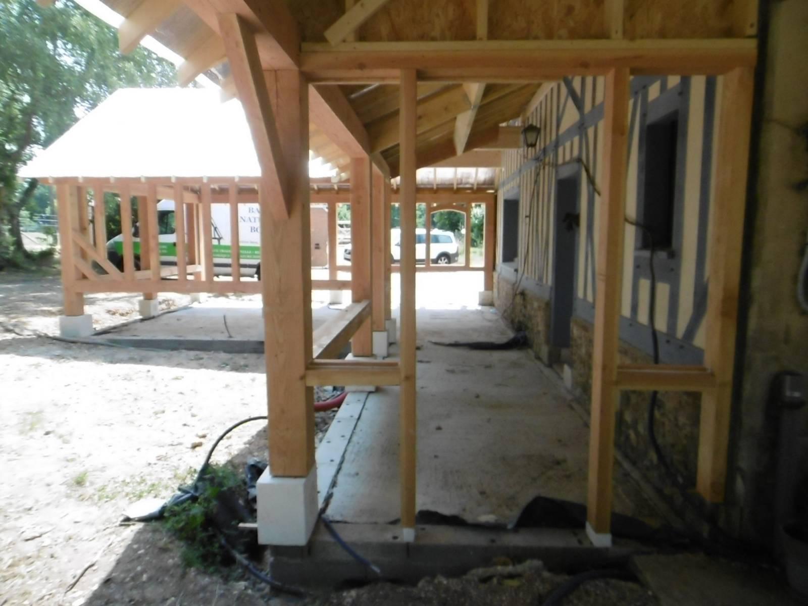 Maison En Bois Normandie charpente traditionnelle en bois pour la construction et la